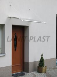 vchodová støíška LANITPLAST TURKUS 140/85 bílá