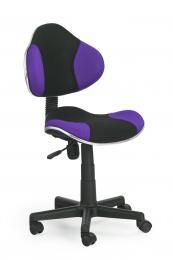 Dìtská otoèní židle QZY-G2 èerno-fialová