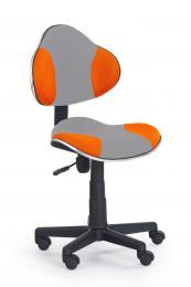 Dìtská otoèná židle QZY-G2-šedo oranžová