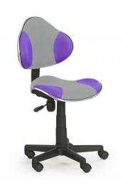 Dìtská otoèná židle OZY-G2- šedo fialová