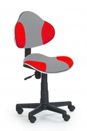 Dìtská otoèná židle QZY-G2 šedo èervená