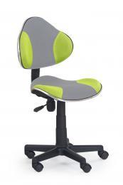 Dìtská otoèná židle QZY-G2-šedo zelená