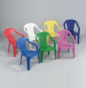 Dìtská plastová židlièka