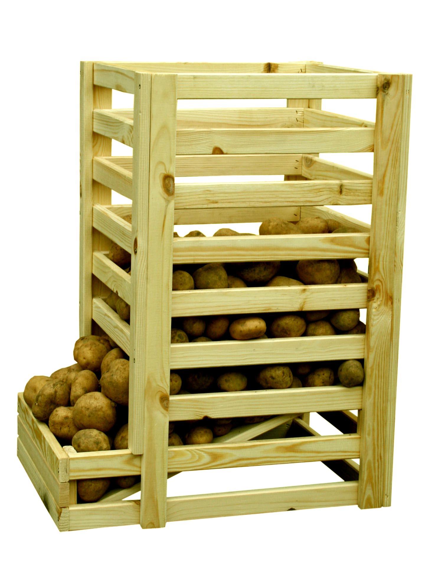 Ящик для хранения овощей в погребе своими руками